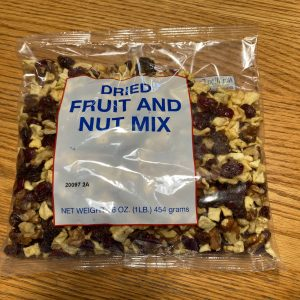 Dried Fruit and Nut Mix (1 lb)